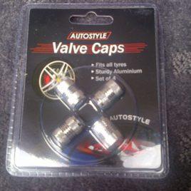 Aluminium Valve Caps 4 Pack – Silver – AVCSLV