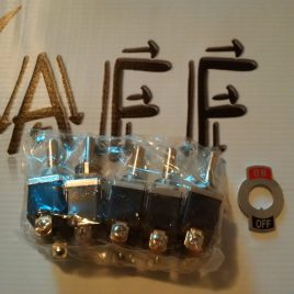 Toggle Switch SPST 5 pack