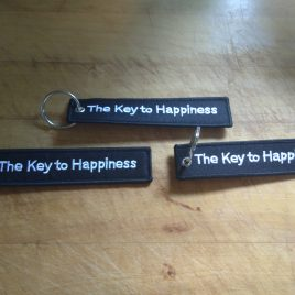 Key Ring – The Key to Happiness